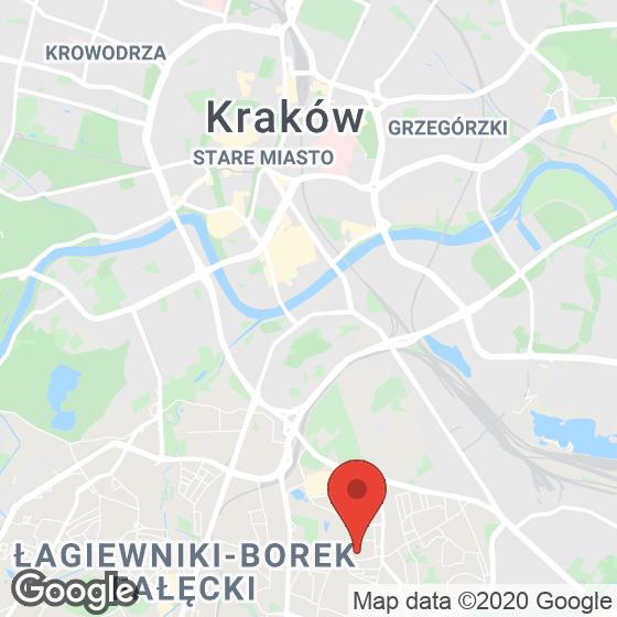 Mapa lokaliacji Apartamenty Nowa Bonarka